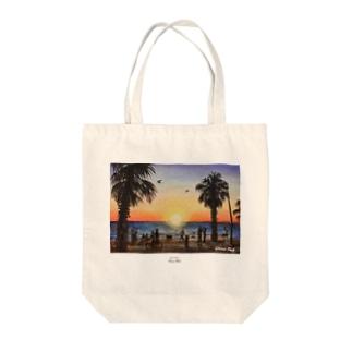 St.Kilda Beach Tote bags