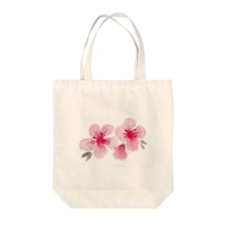 水彩のお花です。 Tote bags