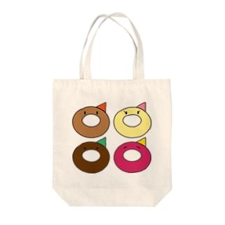 Okamoto Donut Factory Tote bags