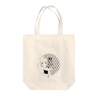 弓道少女 Tote bags