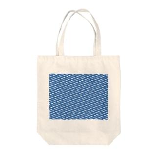 昇りワカサギ Tote bags