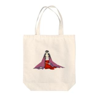単衣(撫子) Tote bags
