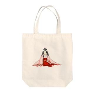 単衣(桜) Tote bags