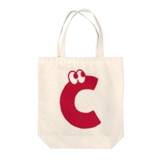 モコちゃん Tote bags