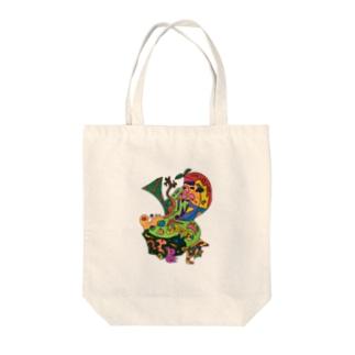 トロピー Tote bags