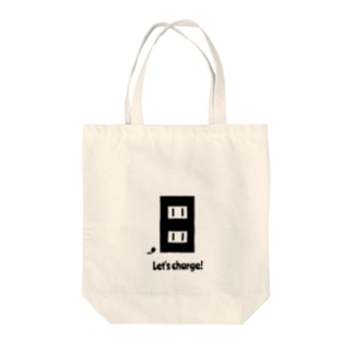 Let's charge! Tote bags