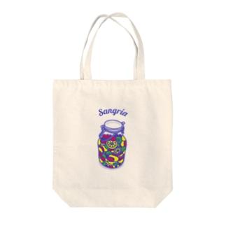 フルーツたっぷりサングリア Tote bags