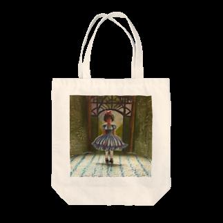 咲乱のお人形劇場 Tote bags