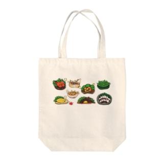 居酒屋メニュー8種セット(横形並び) Tote bags
