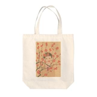 紅梅 Tote bags