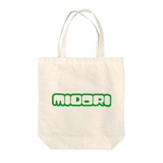 MIDORI Tote bags
