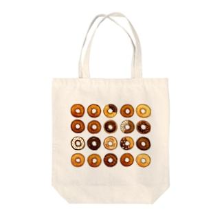 ドーナッツ Tote bags