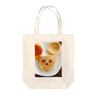 lucky wonder worldのくまちゃん今川焼♡ Tote bags
