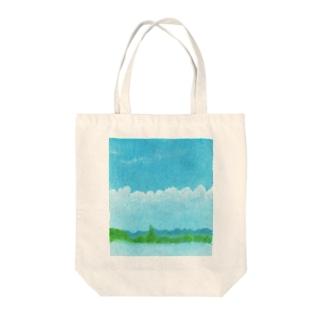 あの空に想う Tote bags