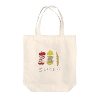 スライスフルーツ Tote bags