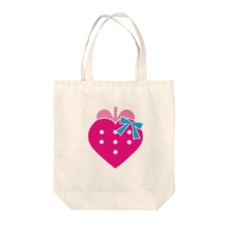 メイドカフェストロベリー公式ロゴトートバッグ Tote bags