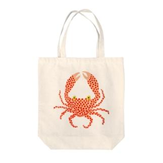 カニカニん Tote bags