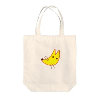 コン吉 Tote bags