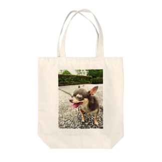 Happy         Chihuahua Tote bags