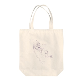The smallest feline Tote bags
