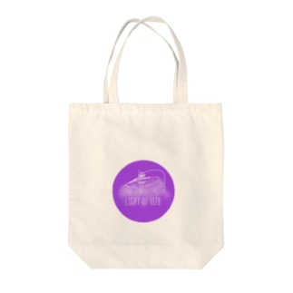 Light of Life Tote bags
