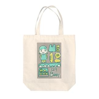 129 Bakery Tote bags