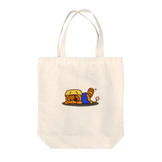 だらりんいしぽん Tote bags