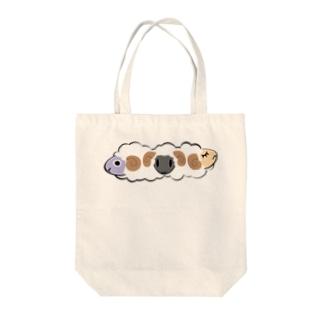 かわいい羊 Tote bags