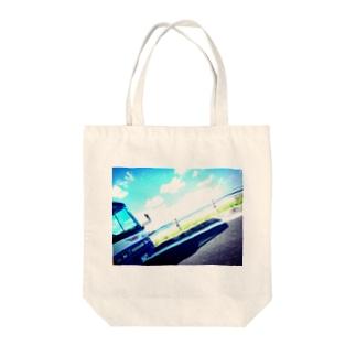 沖縄。 Tote bags