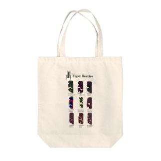 日本のハンミョウ Tote bags