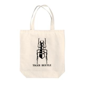 ハンミョウ Tote bags