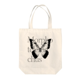 NEROのMorpho telemachus Tote bags