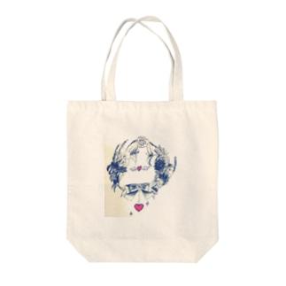 お花の輪 Tote bags
