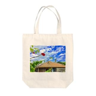 竹富島の心 Tote bags
