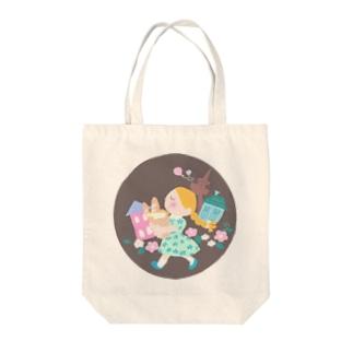 パリジェンヌ Tote bags
