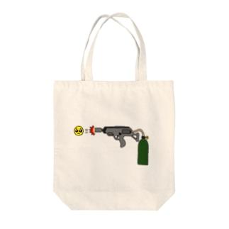 ぴえん放射器 Tote bags