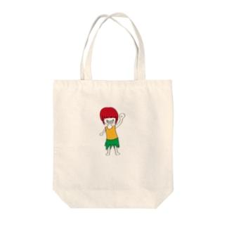 キジムナー Tote bags