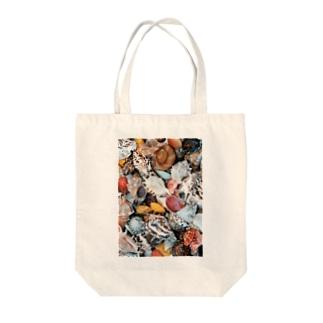 貝殻イロイロ Tote bags