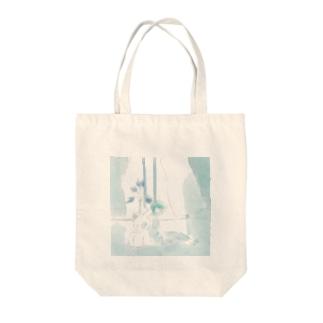 朝の風 Tote bags