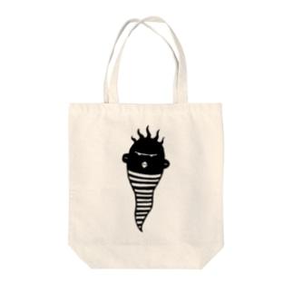 ナガタクン Tote bags