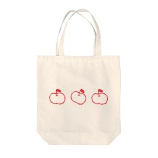 らぷるの赤いらぷる3個トート Tote Bag