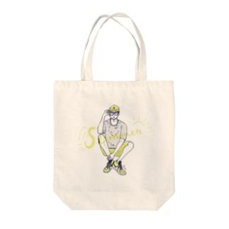 SUMMER BOY Tote bags