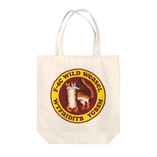 WILD WEASEL Tote bags