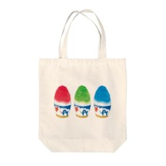 かき氷 Tote bags