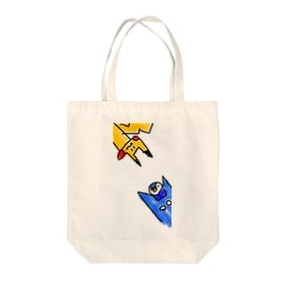 ピカポチャ Tote bags