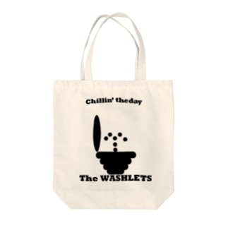 theWashlets-chillin' the day Tote bags
