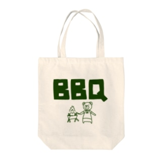 BBQクマ Tote bags
