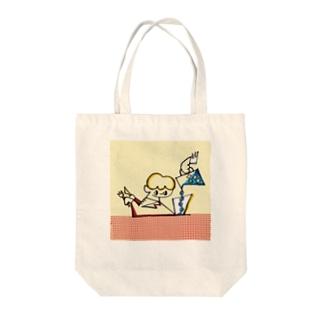とく とく ととと Tote bags