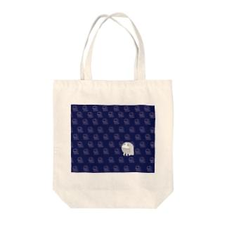 アマビエ隊 青 Tote bags