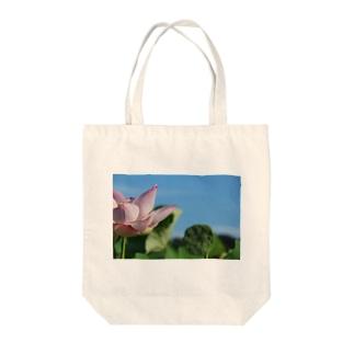 午前7時の蓮 Tote bags
